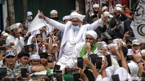 Habib Rizieq Diminta Penuhi Panggilan Tanpa Bawa Pasukan