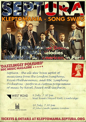 Brass septet Septura's Kleptomania - Song Swag