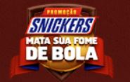 Promoção Snickers Mata sua fome de bola matasuafomedebola.com.br