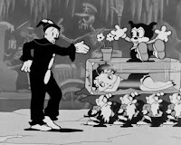 Corto animado Blancanieves - Betty Boop