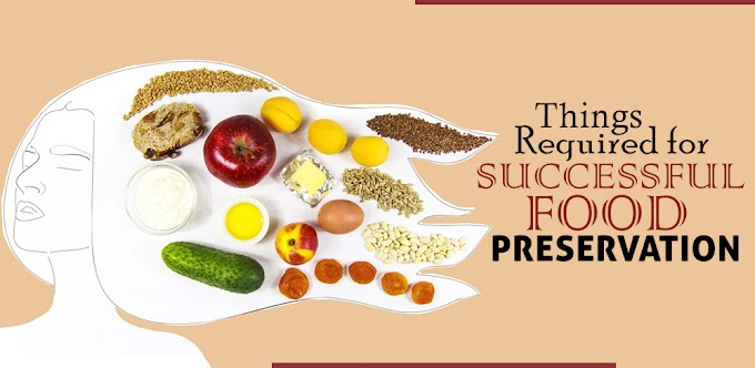 Things Required for Successful Food Preservation