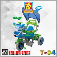 pmb t04 polisi sepeda roda tiga