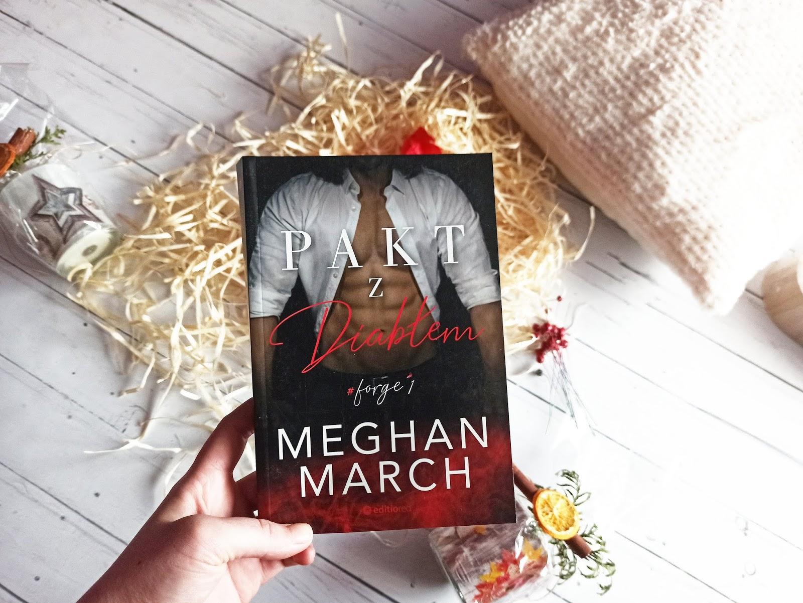 """Pakt z diabłem"" - Meghan March"
