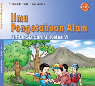 Download Buku BSE Ilmu Pengetahuan Alam Kelas 6 SD Gratis