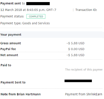 shrinkearn latest payment proof 2018