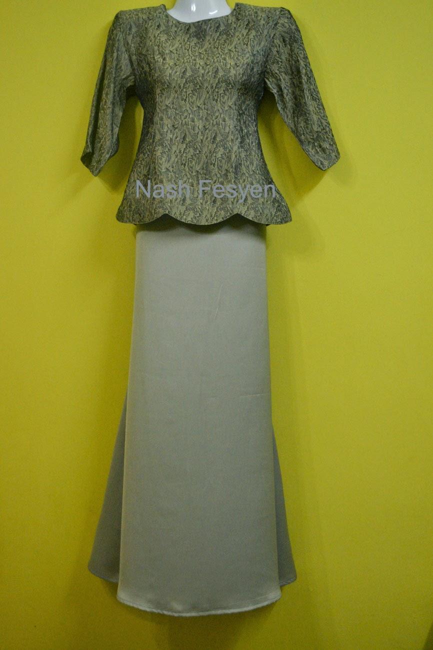 Nash Fesyen Baju Mini Kurung Moden