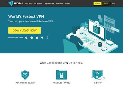 شرح خدمة Hideme VPN