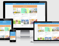gravity responsive blogger template fast