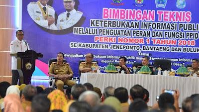 Bantaeng Tuan Rumah Bimbingan Teknologi Layanan Informasi Publik Desa