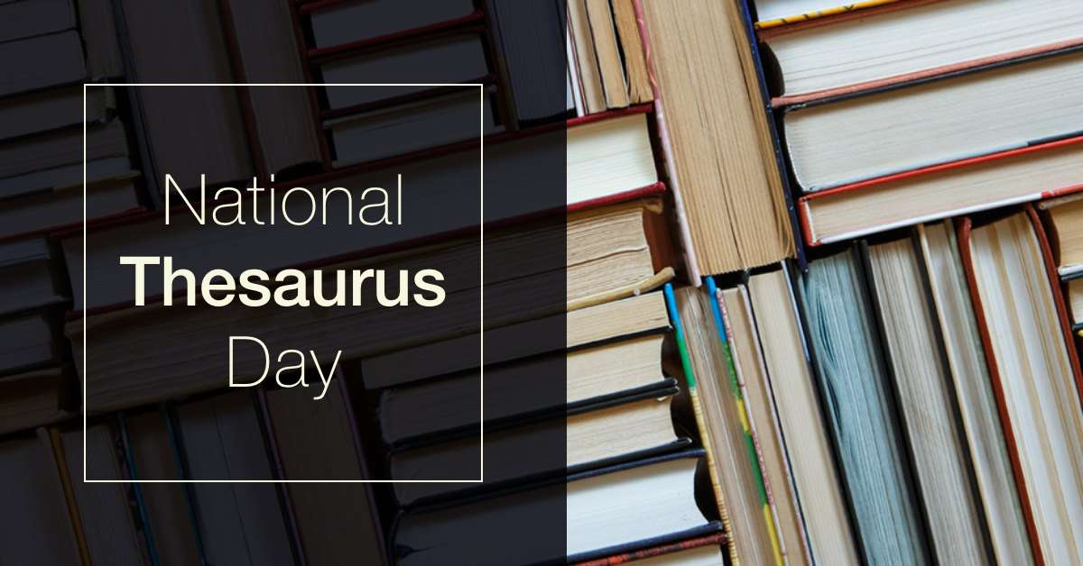 National Thesaurus Day Wishes For Facebook