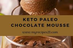 Keto Paleo Chocolate Mousse