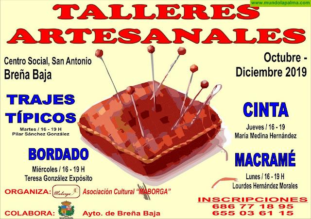 MABORGA: Inscripciones Talleres Artesanales
