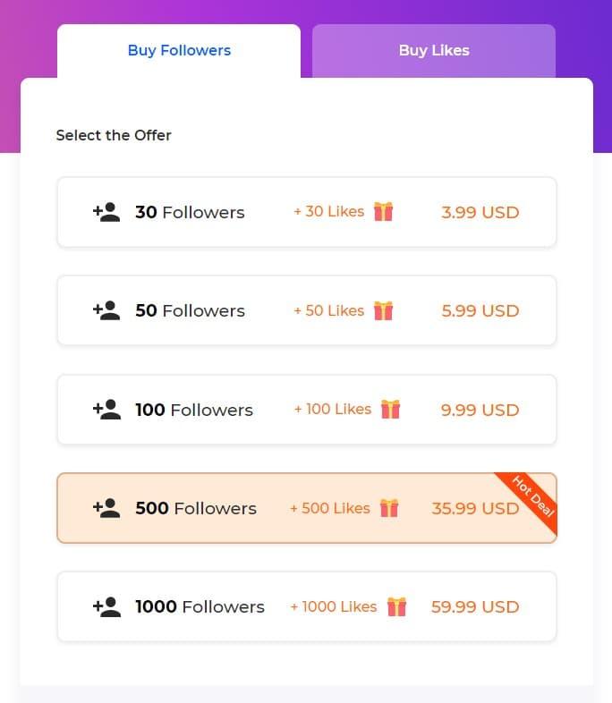لقطة من موقع easygetinsta - كيف زيادة متابعين انستقرام و الاعجابات بالمجان