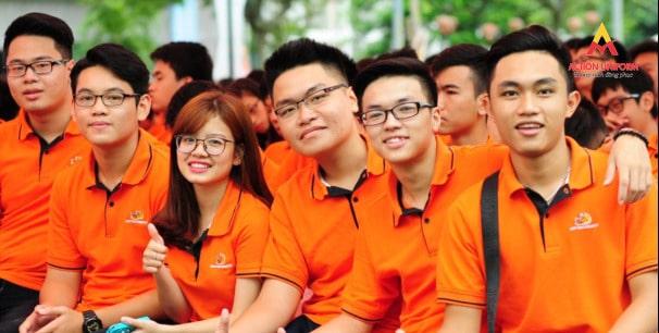 Đồng phục học sinh màu cam