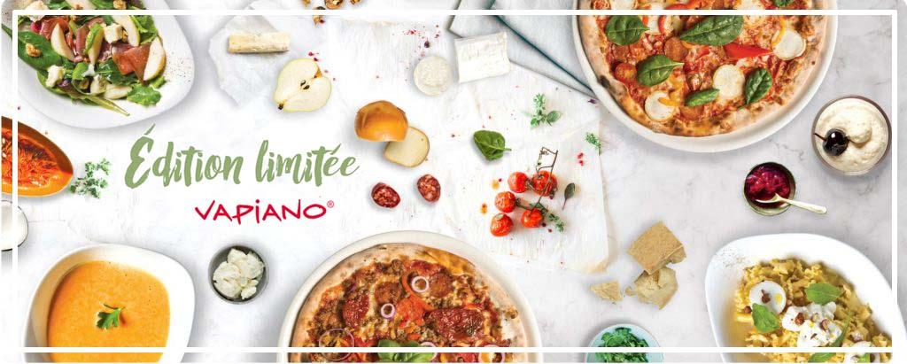 Vapiano : carte hiver en édition limitée