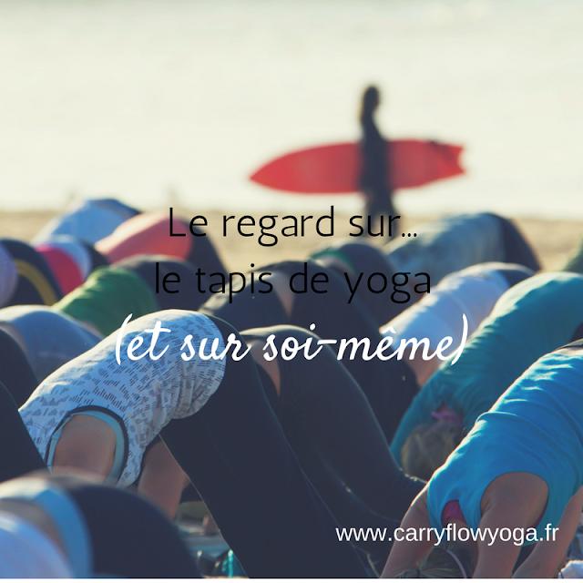 Yoga regard sur soi même méditation conscience de soi