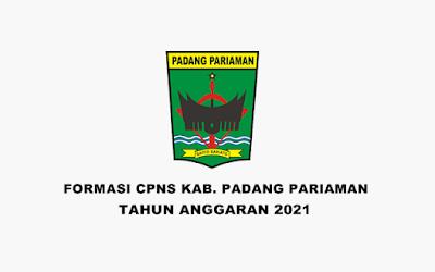 Formasi CPNS Kabupaten Padang Pariaman Tahun 2021