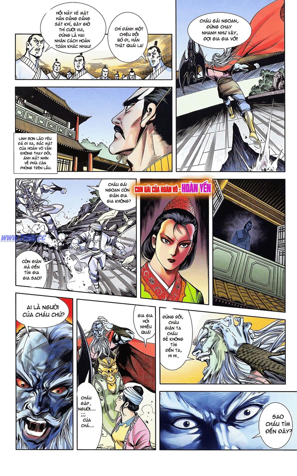 Tần Vương Doanh Chính chapter 17 trang 22