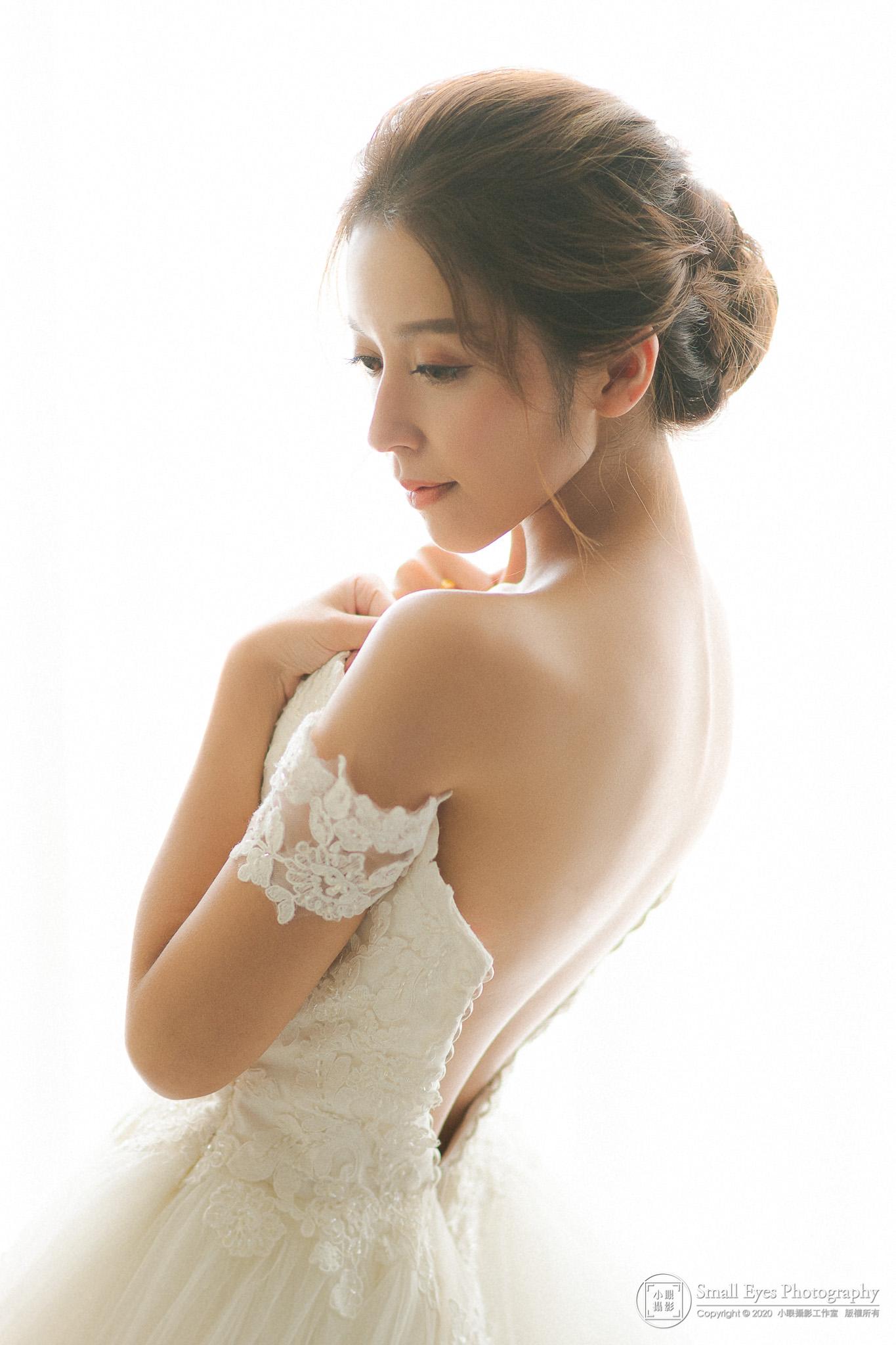 【婚禮紀實】婚攝小眼 - 濟寬 & 椀喬 - 婚禮紀錄 - 白紗頭紗篇