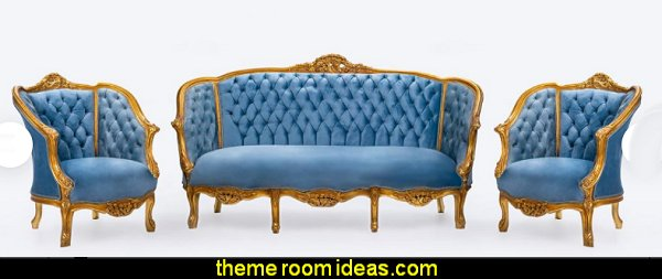 French Settee Tufted Baroque Furniture Baroque Furniture Rococo Interior Design French Tufted Chair