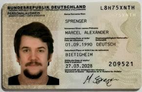 Marcel Sprenger Ausweis