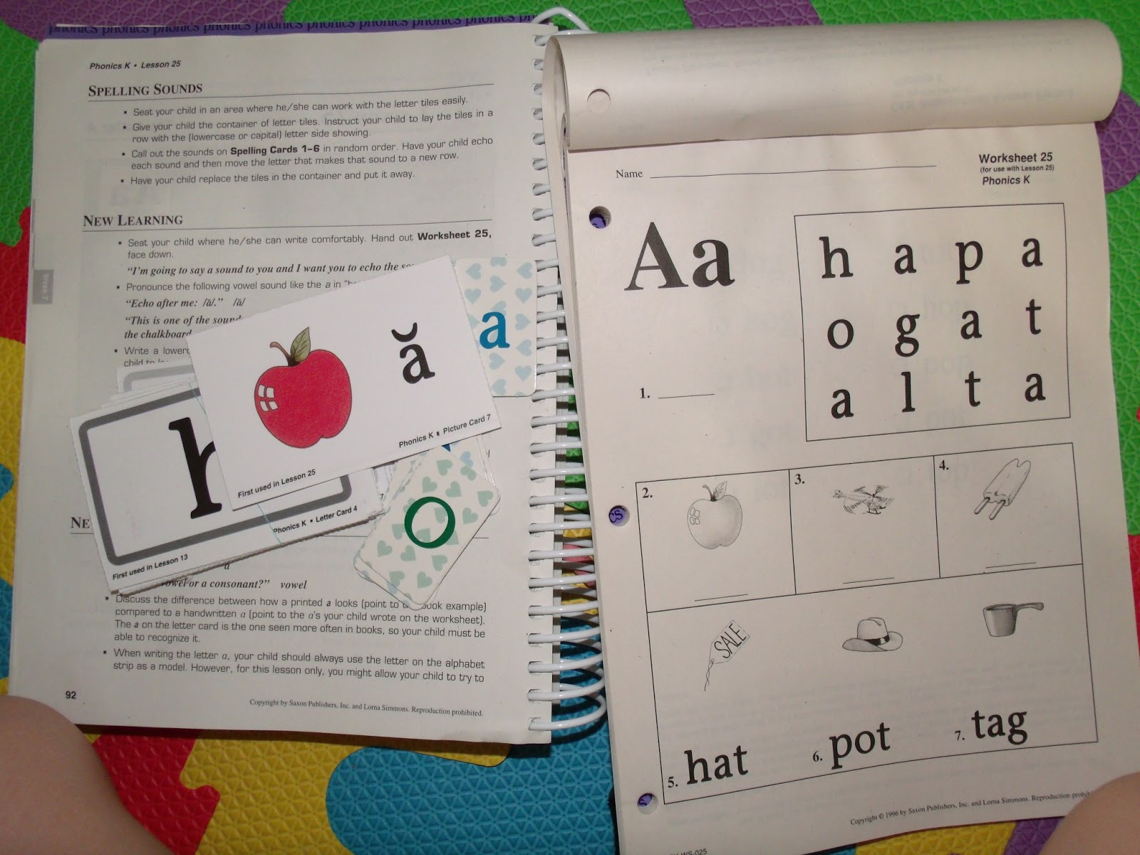 Teach Child How To Read Saxon Phonics First Grade Scope
