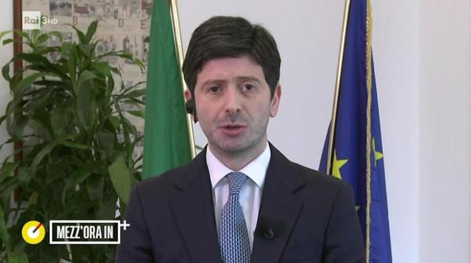 """Speranza: """"Entro l'estate vaccinati tutti gli italiani che lo vorranno"""""""