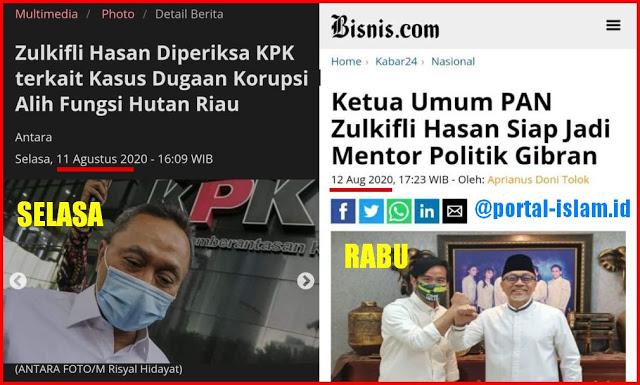 Terungkap! Sehari Setelah Diperiksa KPK, Ketum PAN Mendadak Dukung Gibran Anak Jokowi
