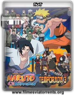 Naruto Shippuden 3ª Temporada Torrent - DVDRip