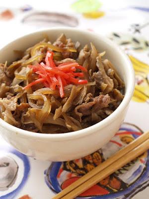 5 MIN Pork Rice Bowl Tsuyudaku (with Extra Soup)
