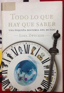Portada del libro Todo lo que hay que saber, de Loel Zwecker