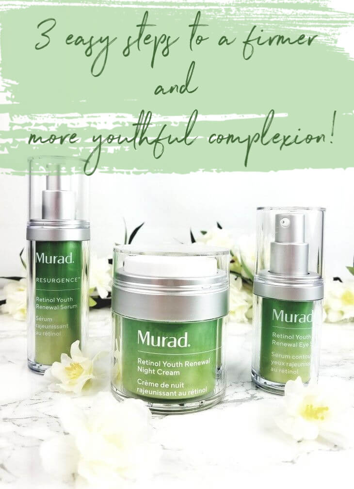 3 Easy Steps to a Firmer and More Youthful Complexion with the Murad Youth Renewal Trio