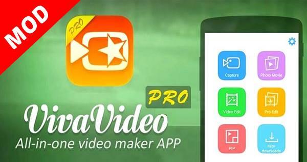 VivaVideo Pro Video Editor Mod Apk v6.0.4 & v8.0.6 (Unlocked Premium)