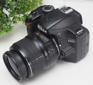 Nikon D3200 - Harga Jual Bekas - Review - Kelebihan - Kekurangan
