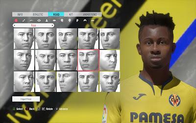 FIFA 20 Faces Samuel Chukwueze by Eslam