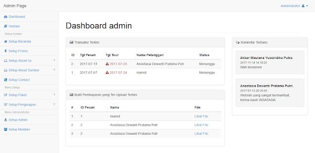 PHP Aplikasi Booking Tour dan Travel Wisata Berbasis Web