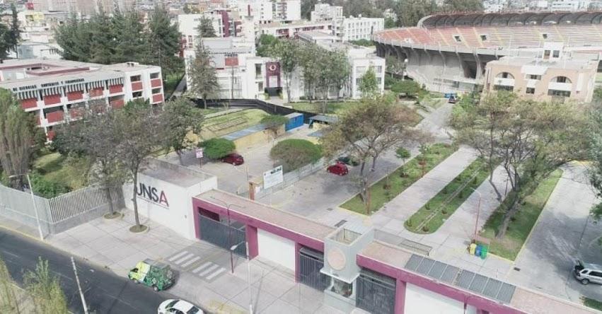 UNSA: A partir del 04 de enero inscripciones para Examen Ordinario virtual I Fase 2021 - Universidad Nacional de San Agustín de Arequipa
