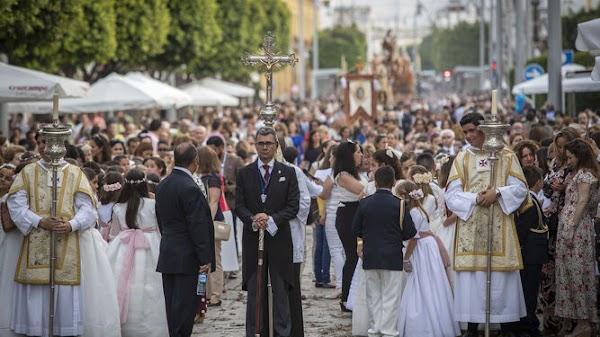 Coronavirus en San Fernando: Suspendida la procesión del Corpus Christi del 14 de junio