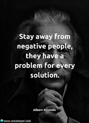 Stay Away From  Negative People,  They Have A  Problem For Every  Solution..!!  #Inspirationalquotes #motivationalquotes  #quotes