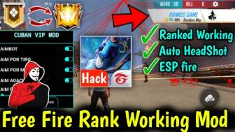 New Free Fire VIP Menu | 100% Ranked Working | Auto Headshot -daddygaming.com