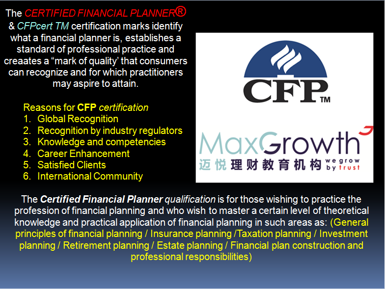 Certified Financial Planner Cfp February 2017
