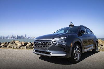 Hyundai-Kia autonomous car use the Radar and Aurora cameras