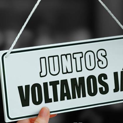 """Juntos Voltamos Já"""