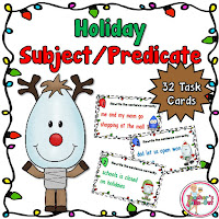 Holiday Subject and Predicate