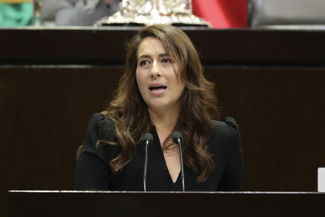 diputada Lyndiana Bugarín Cortés (PVEM)