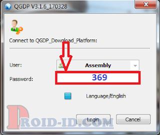 isi password qgdp