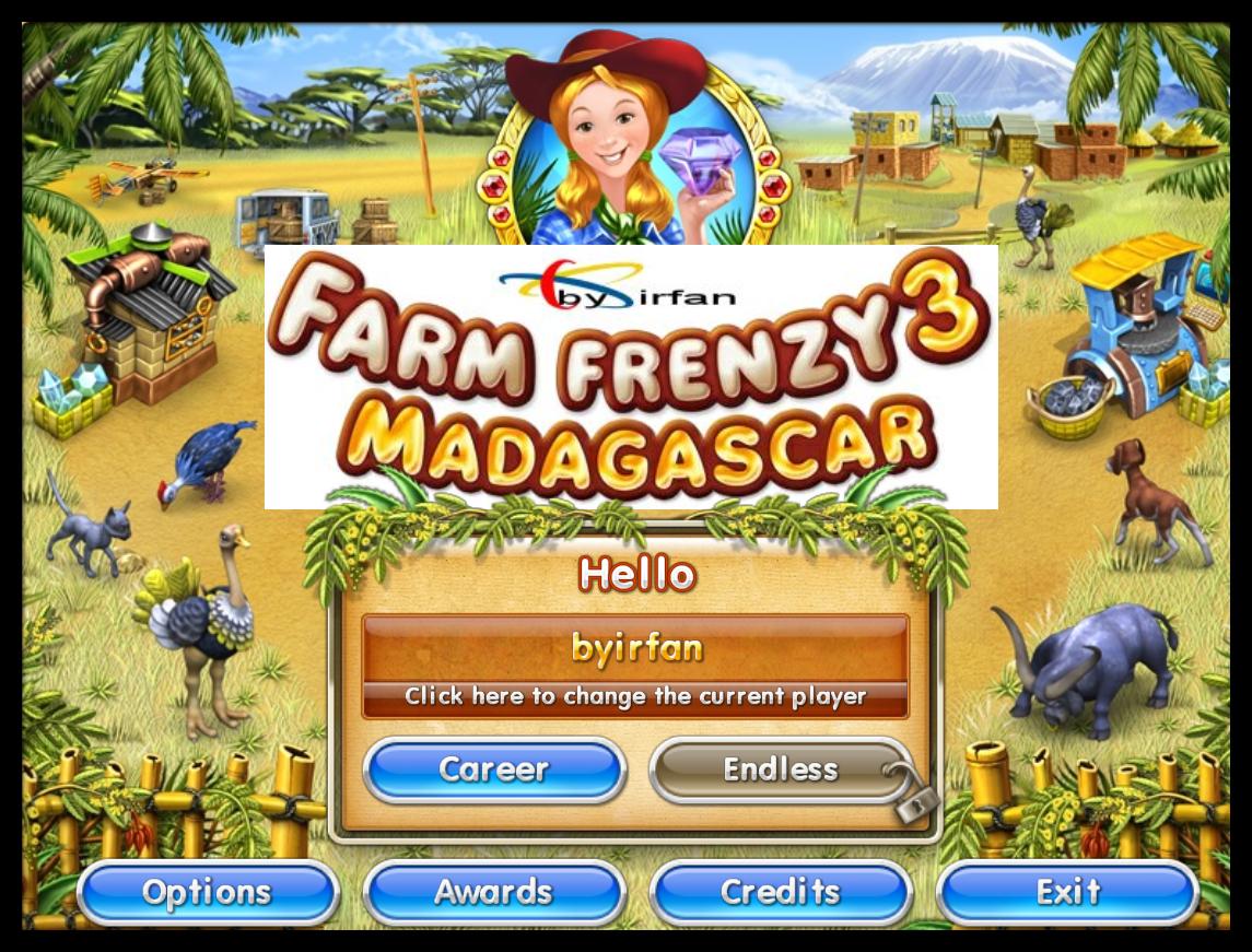 Farm Frenzy 3 Madagascar - Katılımsız Oyun