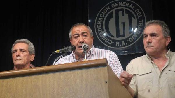 La CGT dispuso un paro nacional para el lunes 25 de junio, sin movilización