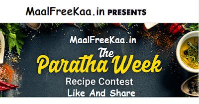 Paratha Recipe Contest
