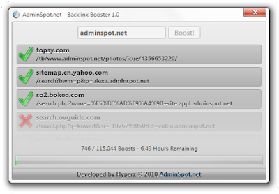 Backlink Booster PRO Full Version